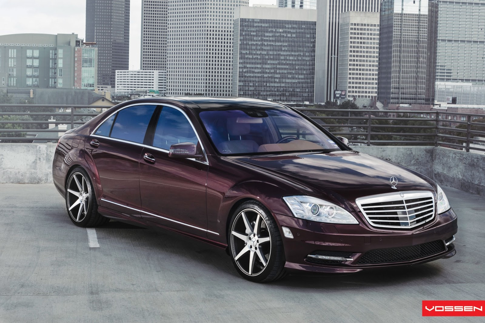 all tuning cars nz 2012 vossen wheels mercedes benz s550. Black Bedroom Furniture Sets. Home Design Ideas