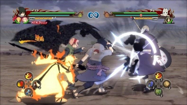 Naruto Shippuden: Ultimate Ninja Storm Revolution game