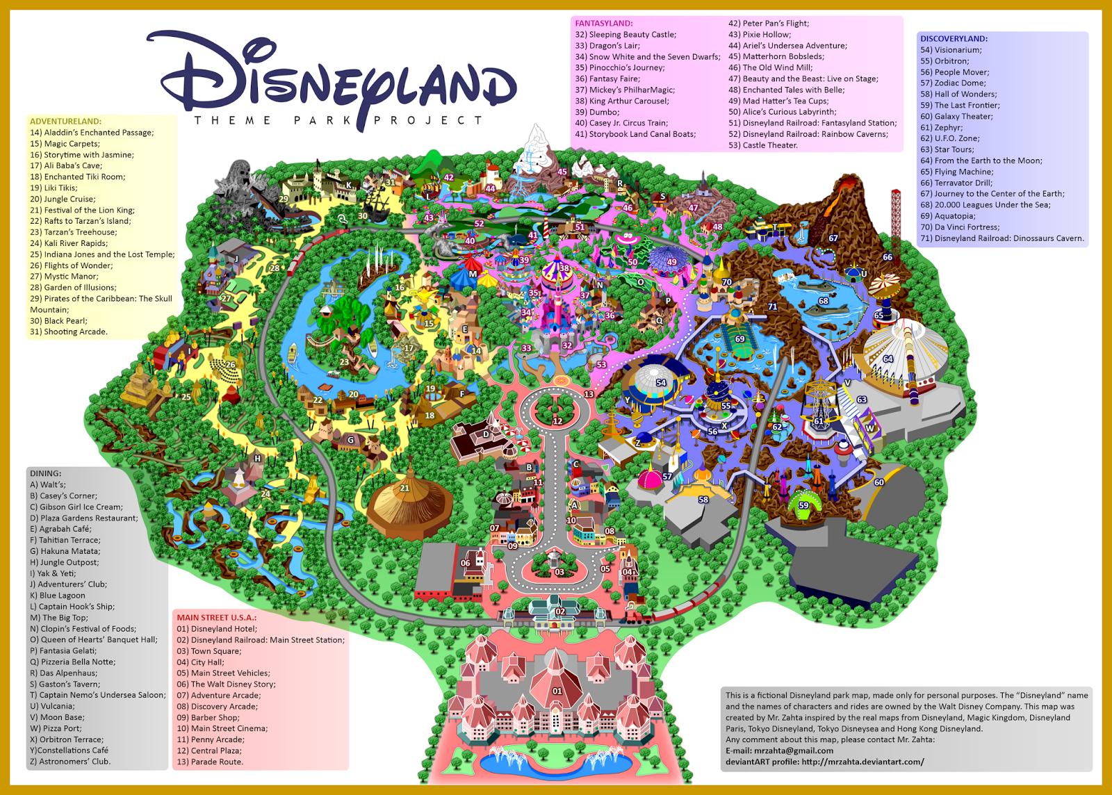 California Disneyland Map 2016 Related Keywords
