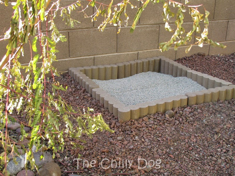 "How to build a simple, DIY, outdoor cat litter box that I like to call ""The Zen Garden"""