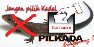 Jangan pilih Kadal