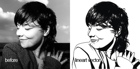 Vector lineart