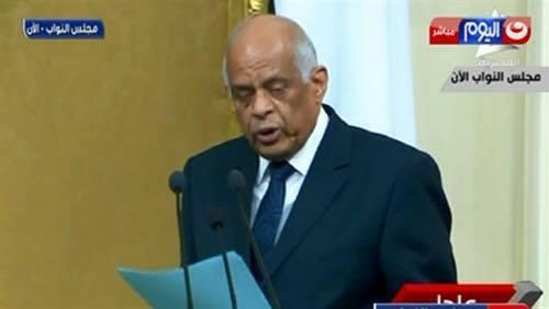 د. علي عبد العال رئيس مجلس نواب مصر هو أكبر محطم لقواعد اللغة العربية في مصر في العصر الحديث!