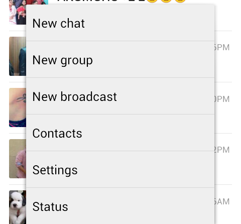 how to change last seen on whatsapp samsung