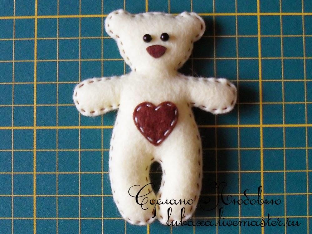Плоские медведи своими руками