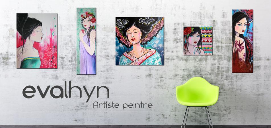 eva lhyn - Artiste peintre
