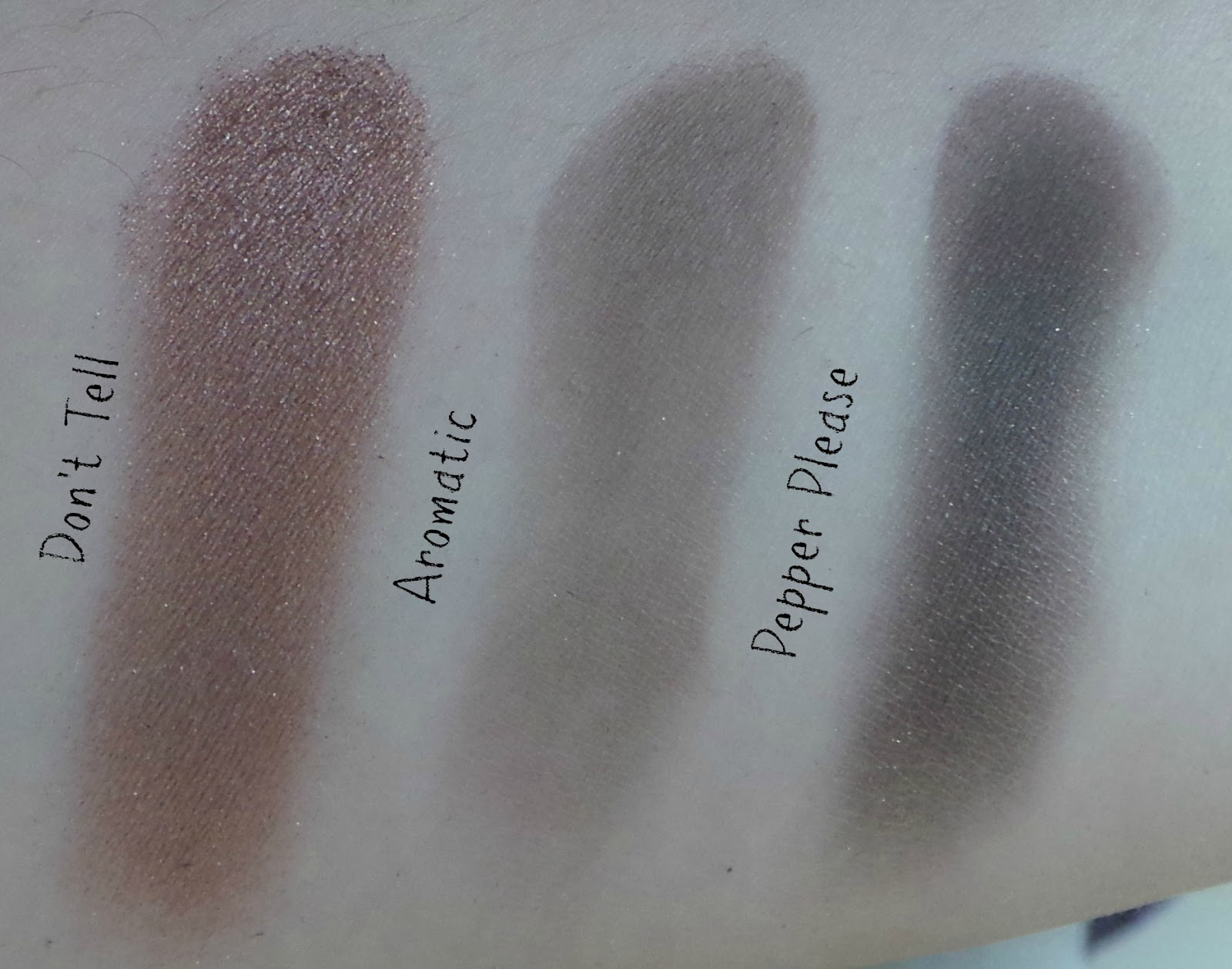 MAC Amber x 9 palette review