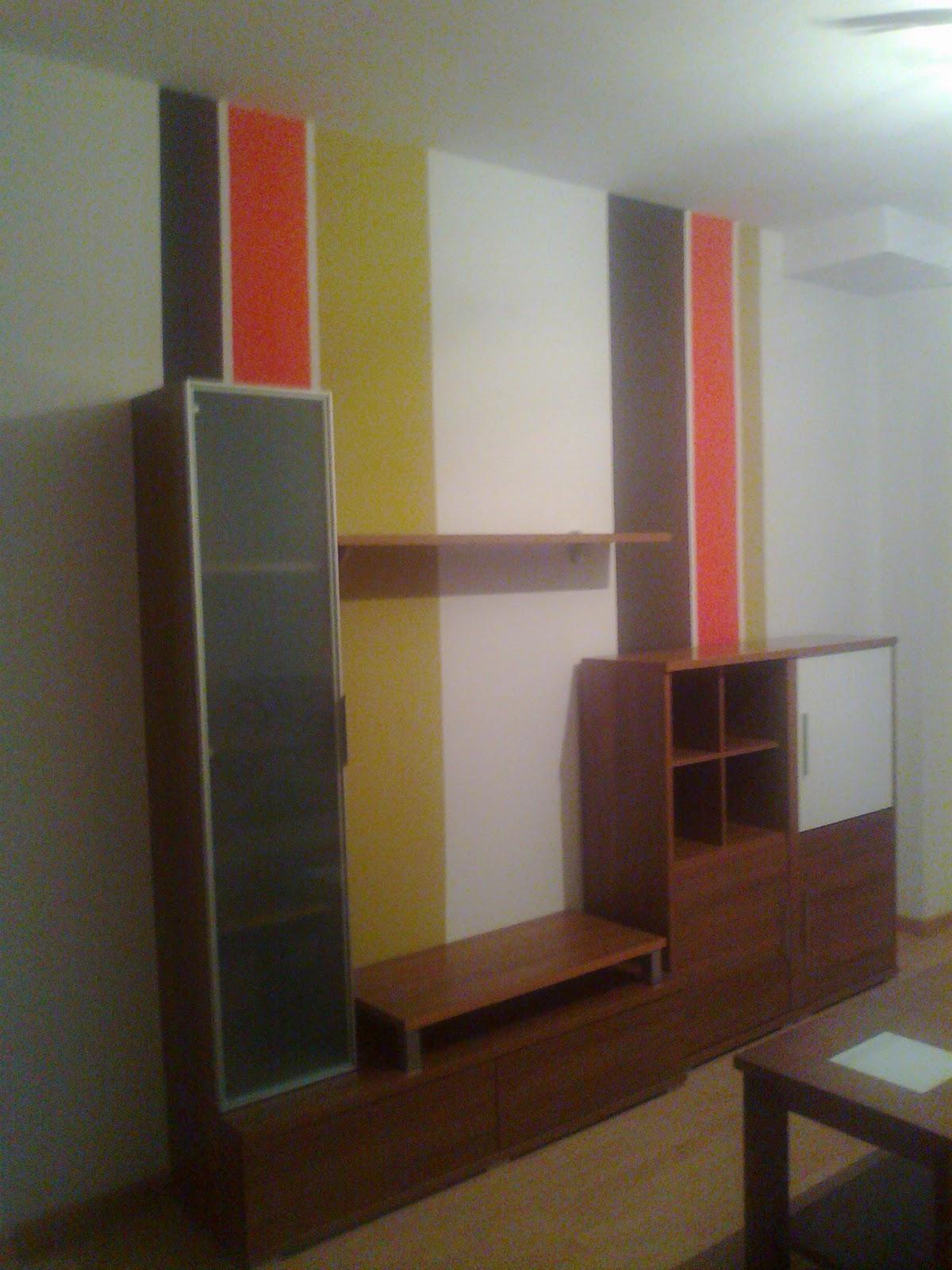 El taller de flory pondy pintura en sal n for Pintura de paredes interiores fotos