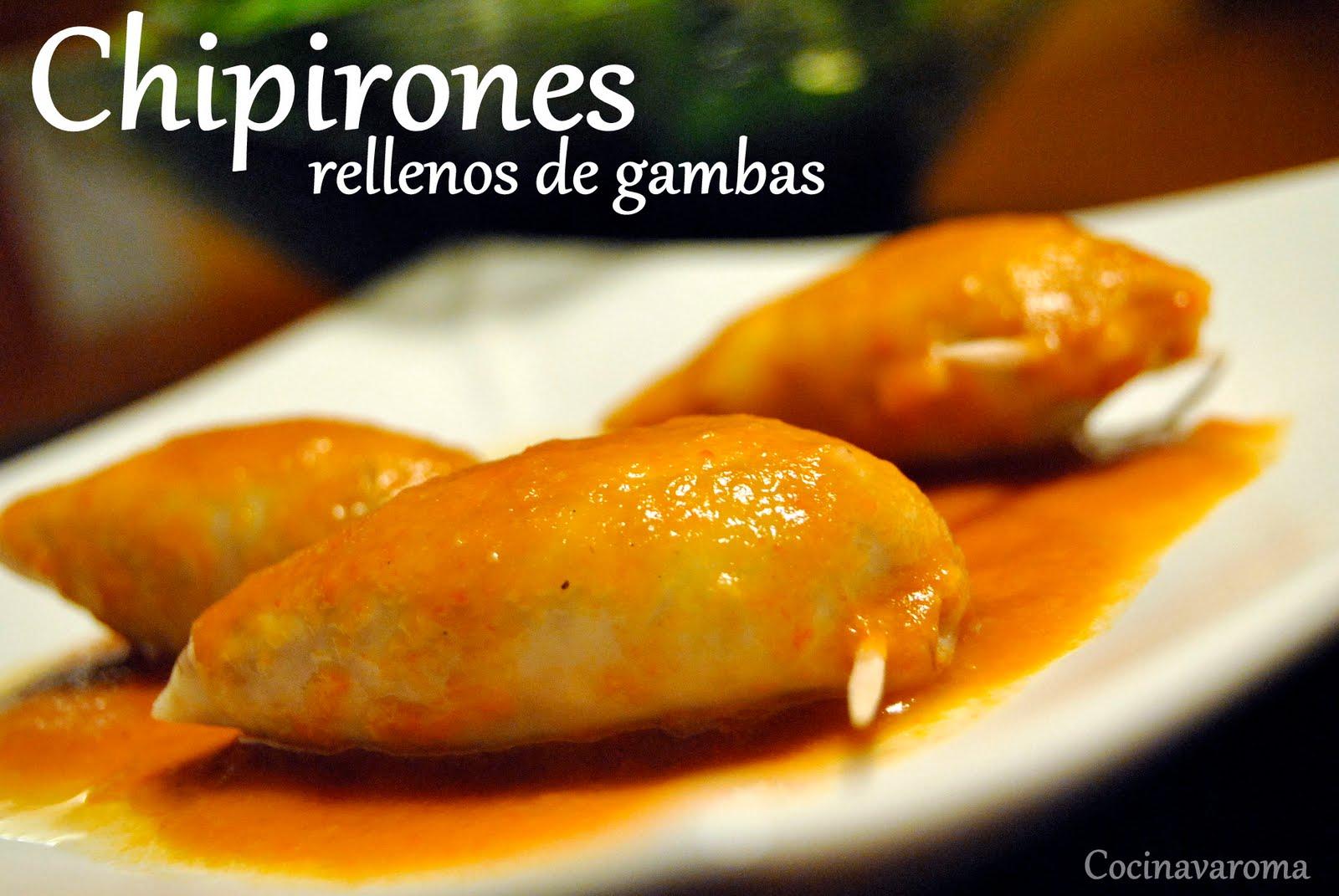 Cocinar Chipirones Rellenos | Cocina Varoma Chipirones Rellenos De Gambas