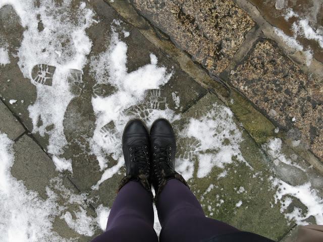 Winter side walks