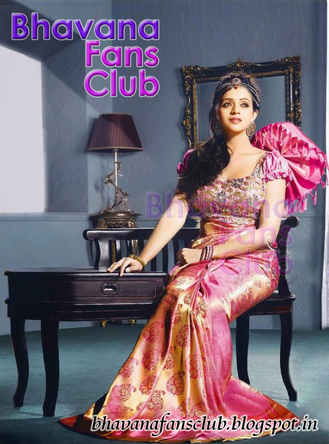 Bhavana on abhinava neostyle saree shoot actress bhavana fans club posted by smart blogger altavistaventures Image collections