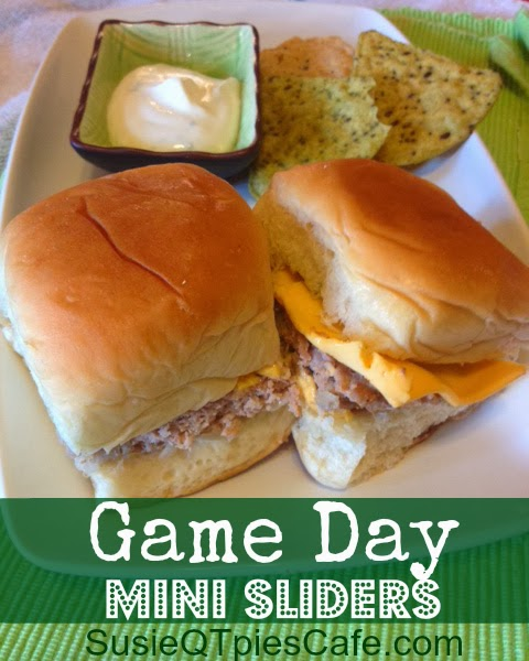 Game Day Mini Slider Recipes