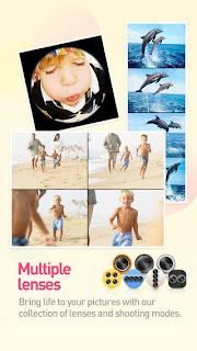 تطبيق مجانى مميز جداً لإلتقاط وتحرير وتعديل الصور للاندرويد والأيفون والايباد والايبود تاتش Cymera - Camera & Photo Editor APK-IPA-1-4-0