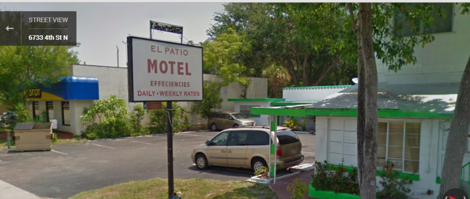 EL Patio Motel, 4st N / Worst Motel In St.Pete