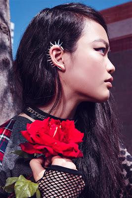 punk fashion, forever 21 ad campaign, jen dau model, fashion photographer nyc