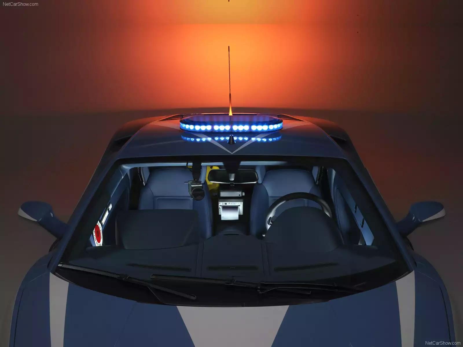 Hình ảnh siêu xe Lamborghini Gallardo LP560-4 Polizia 2009 & nội ngoại thất