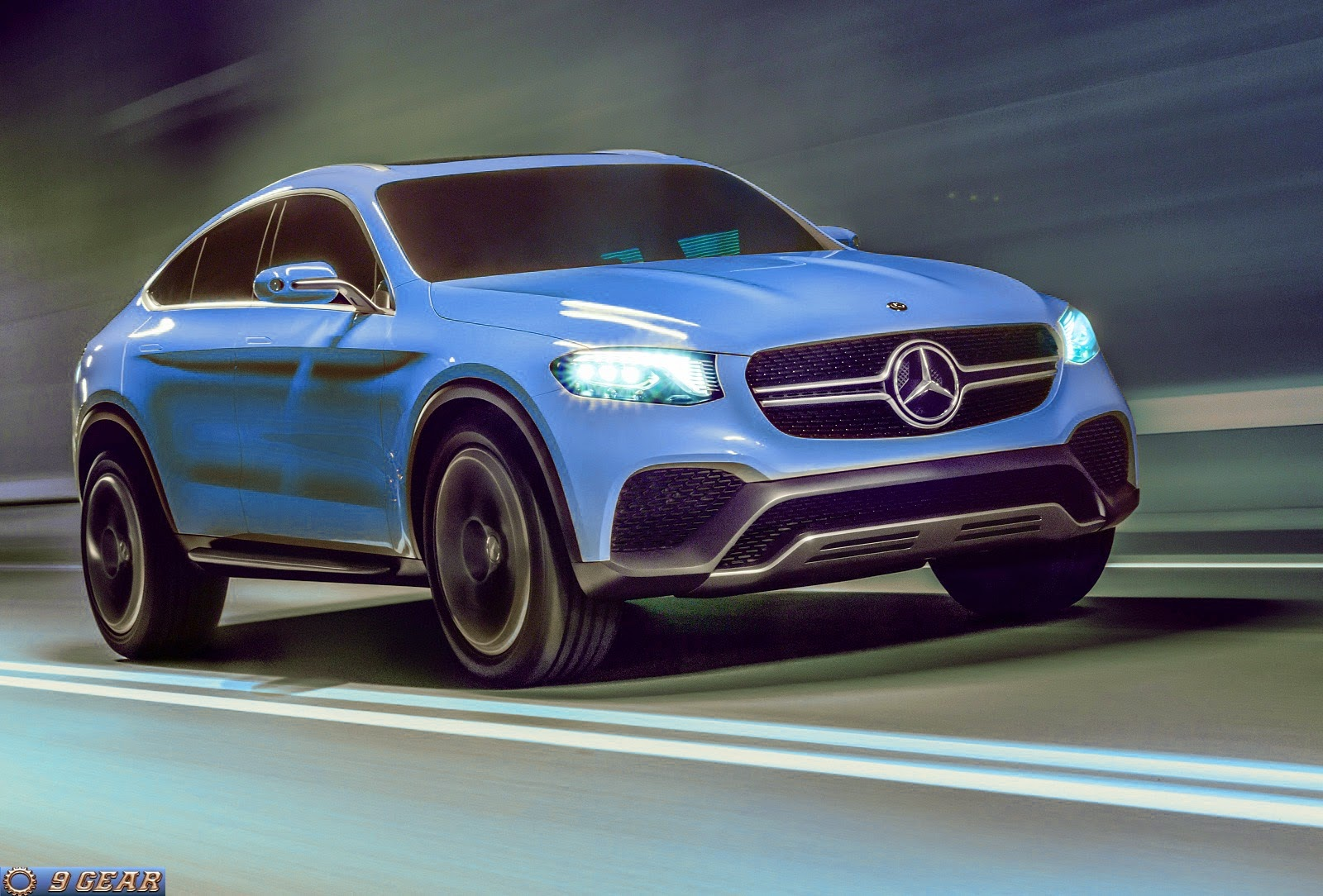 Mercedes benz concept glc coup crossover car reviews for Mercedes benz cross over