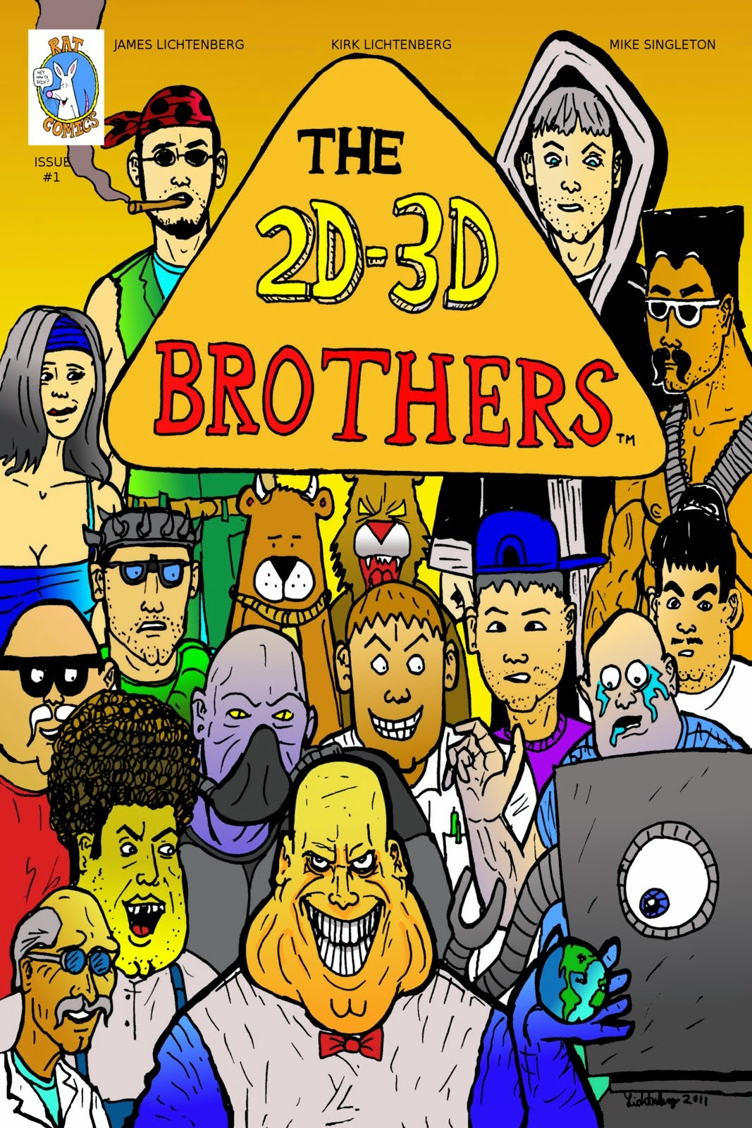 2d-3d Brothers