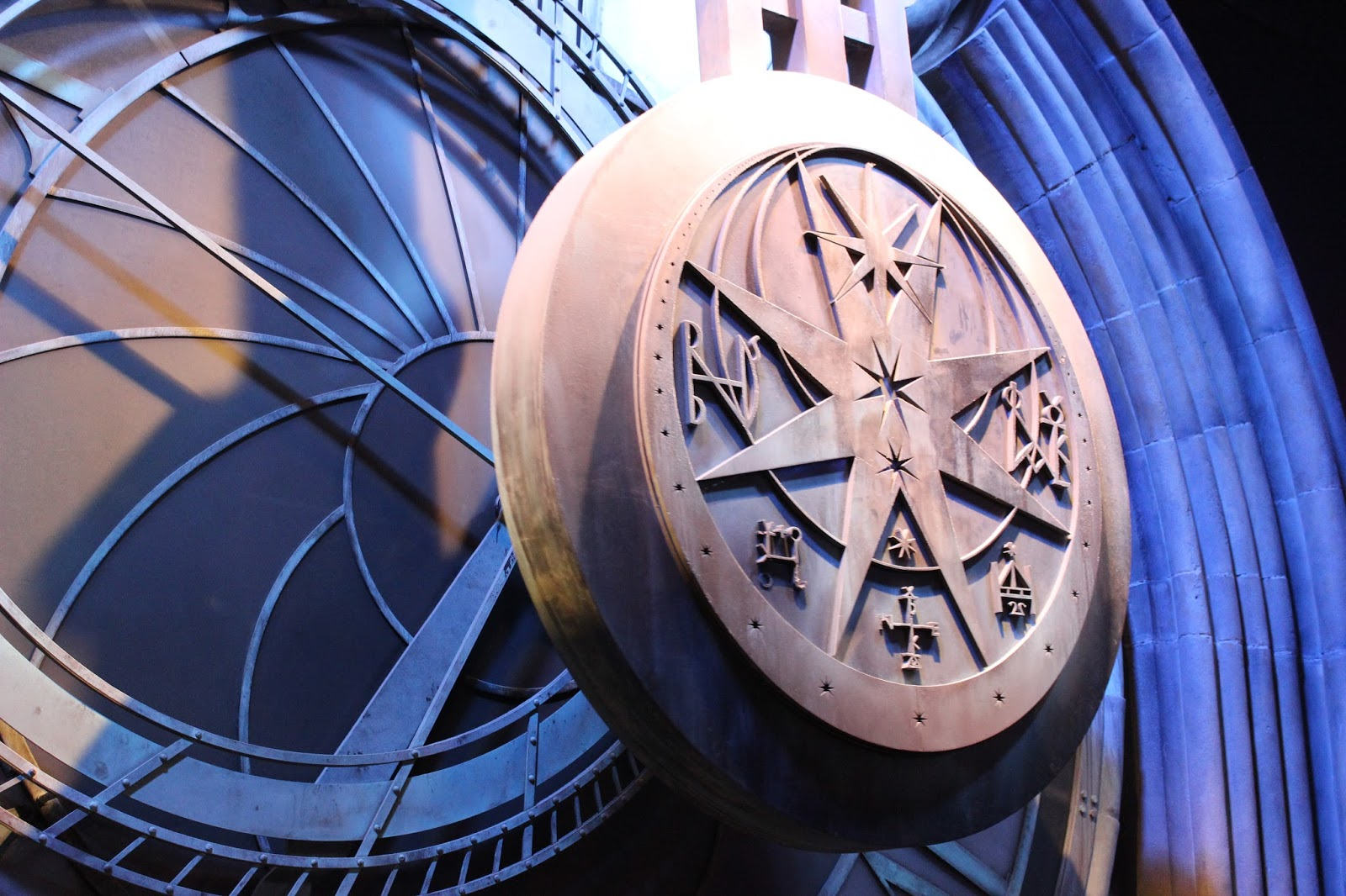 Harry Potter studio tour london clock