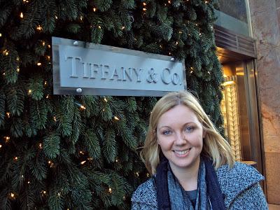 Tiffany's New York Sign