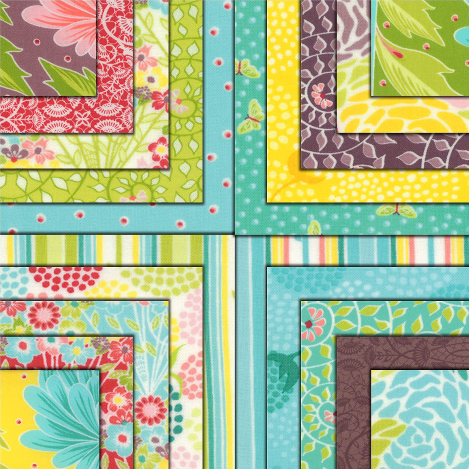 Moda CHANTILLY Quilt Fabric by Lauren & Jessi Jung