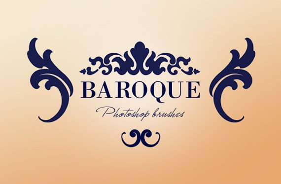 culture mechanism baroque in modern graphic designs