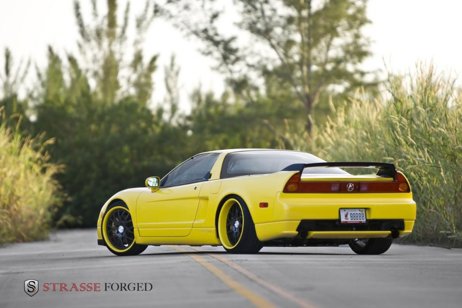 All Cars NZ: 2004 Acura NSX by Strasse Forged