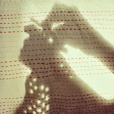 ByHaafner, crochet, crocheting hands, silhouette, granny square