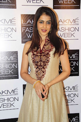 Genelia-D-Souza @ Lakme Fashion Week Day 4