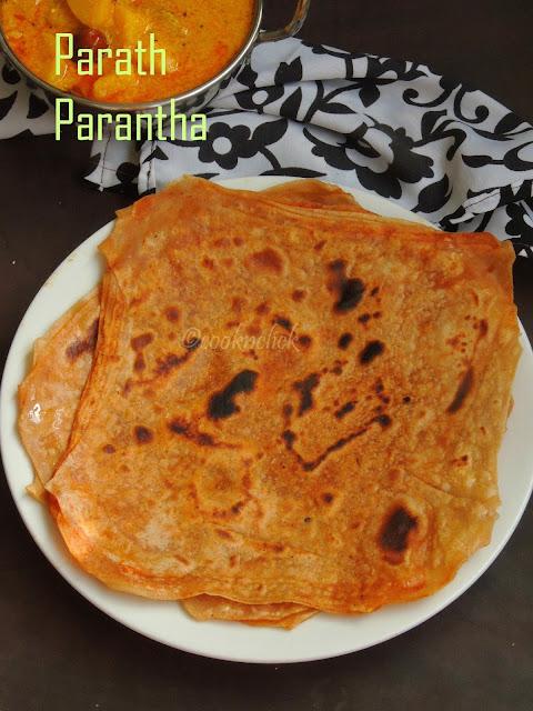 16 Layered paratha, Parath Parantha, Delhi Special Parath Parantha