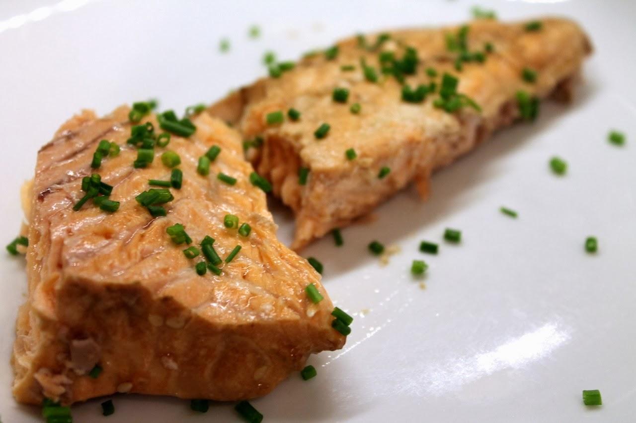 Dashi-Poached Salmon