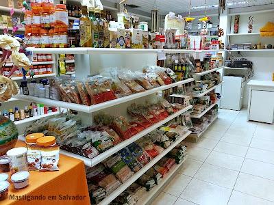 Espaço Natural Restaurante: Loja