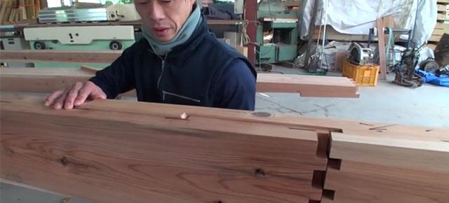 Antiguas técnicas japonesas para hacer edificios de madera sin clavos