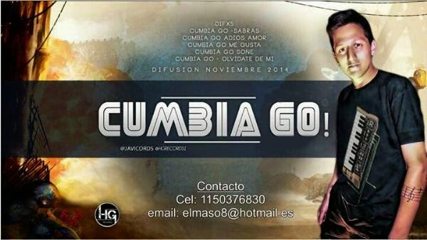 Cumbia Go! - Sabras - (Noviembre 2014)