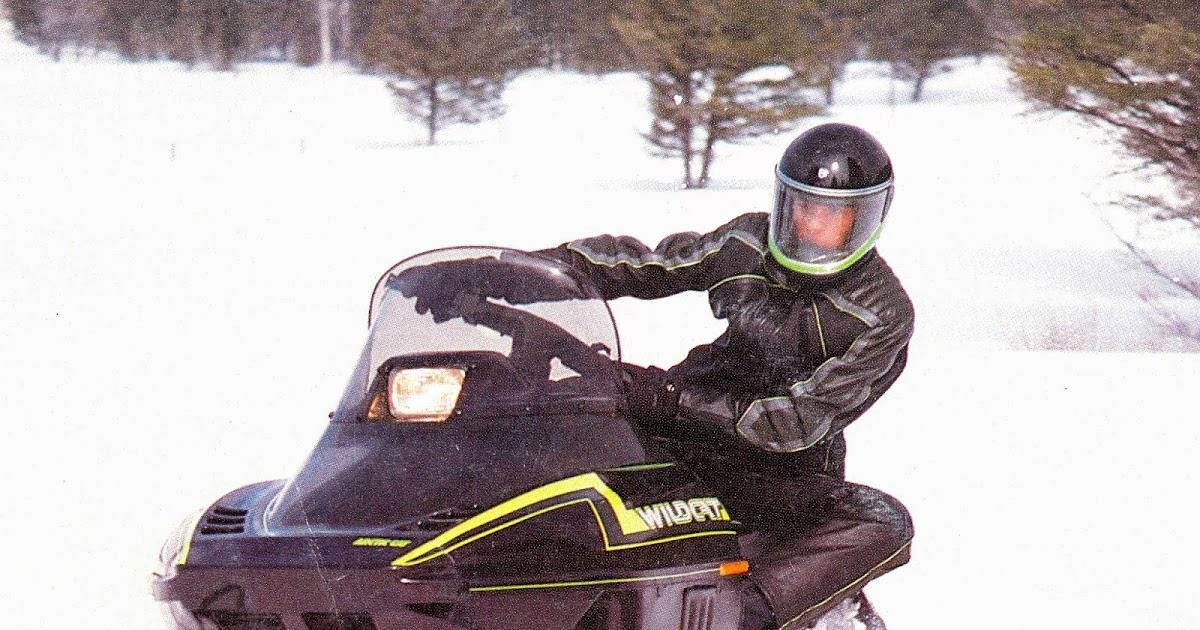 CLASSIC SNOWMOBILES OF THE PAST 1988 ARCTIC CAT WILDCAT 650