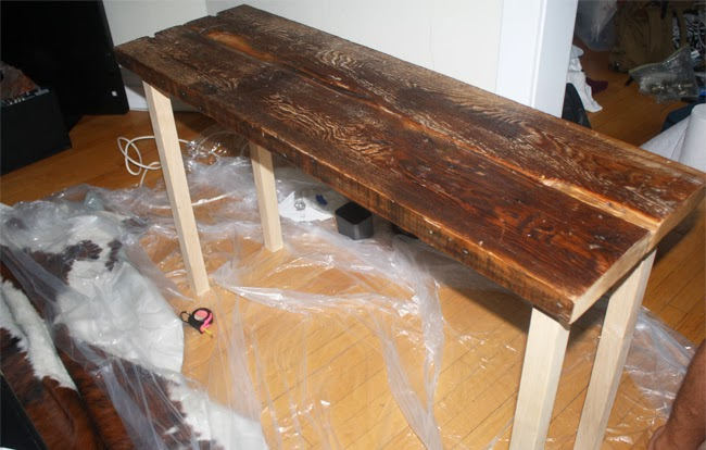 isn 39 t that charming diy reclaimed wood table