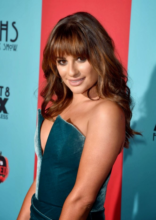 Lea Michele – American Horror Story Freak Show Premiere in Hollywood