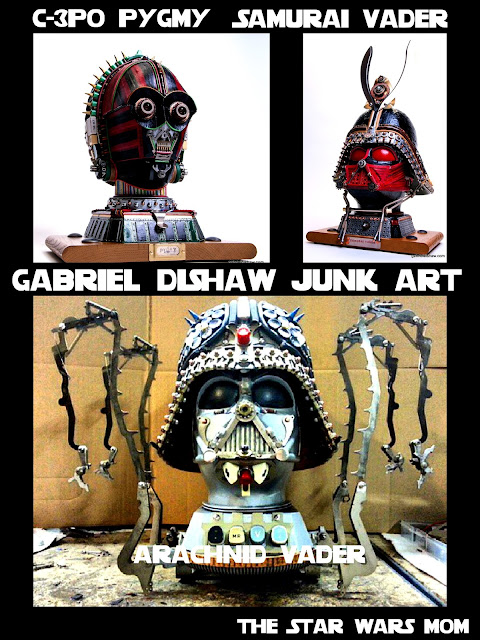 Star Wars Junk Art by Gabiel Dishaw