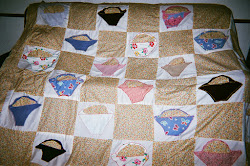 2nd Quilt - The Ugly Baskets