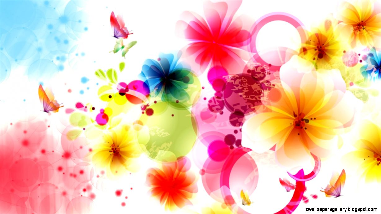 Flower Design Wallpaper   Flowers Ideas