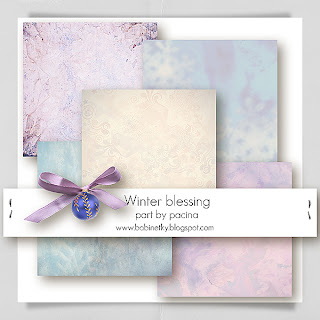 Winter Blessing Paper by Pacina Megakit Part