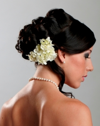 Latest Hairstyles Photo For Marriage And Party Christmas