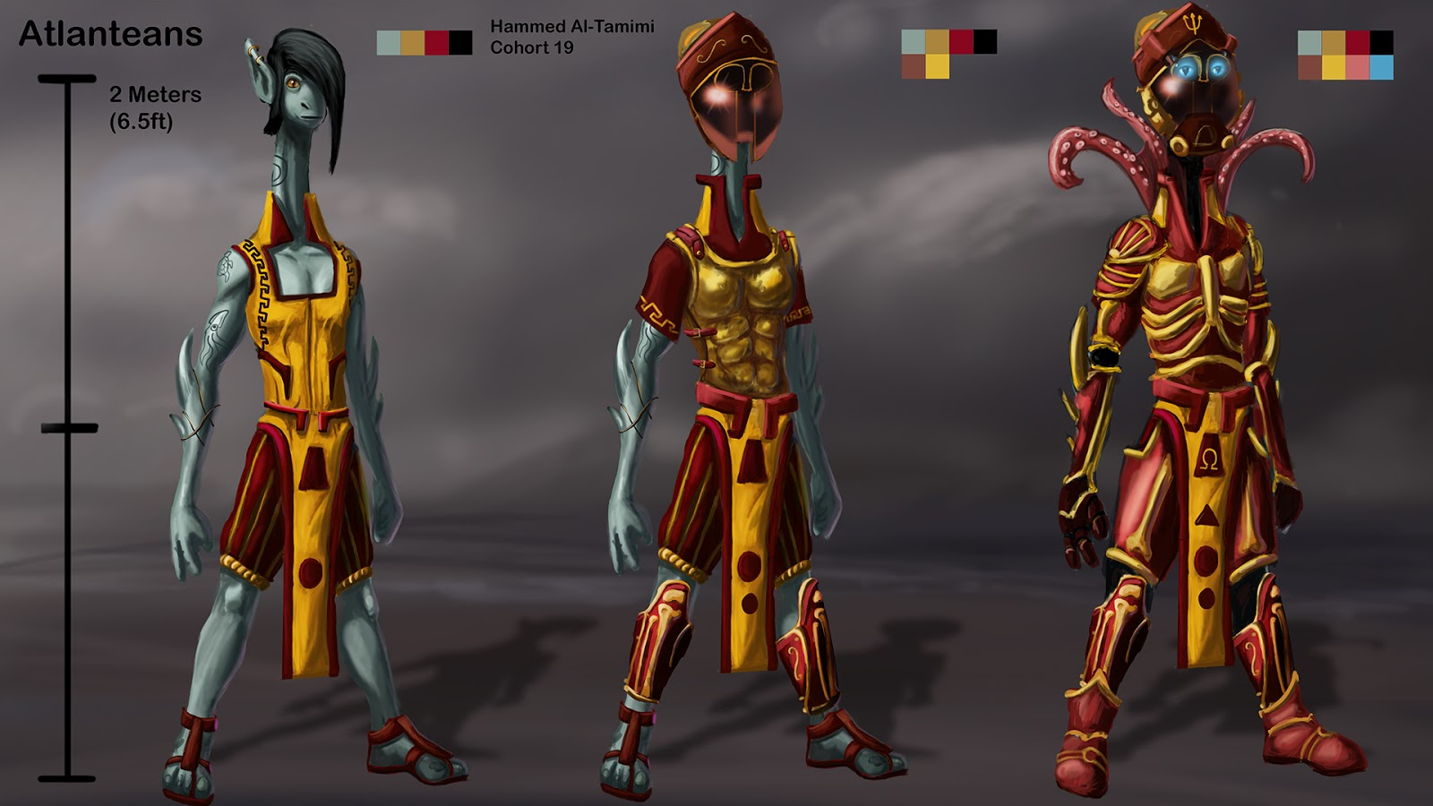 Hammed Al-Tamimi\'s Game Art and Design Blog: Armor sets