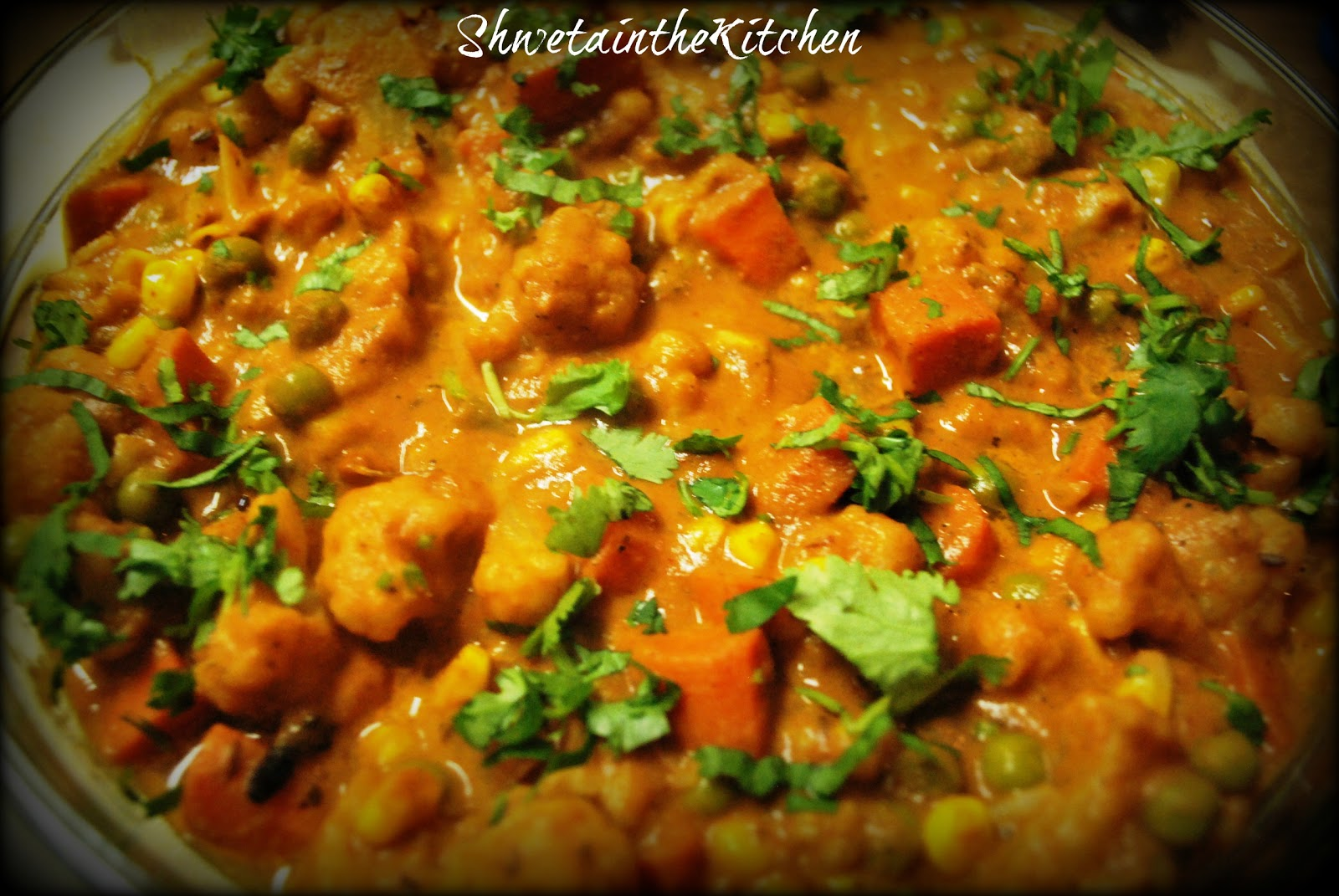 South Indian Vegetable Curry Recipe — Dishmaps