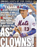 Yanks win big game, Mets win Daily News back page