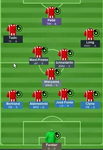 football manager 2015 tactics southampton