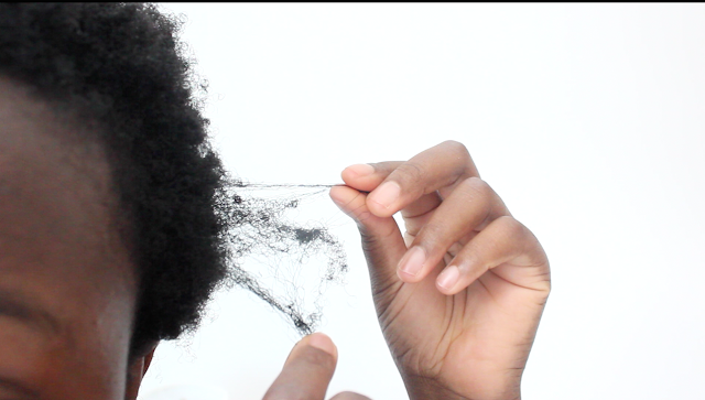 how to cur 4c haircare knotted hair