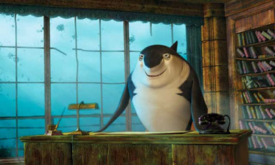Robert Deniro Shark Tale animatedfilmreviews.filminspector.com