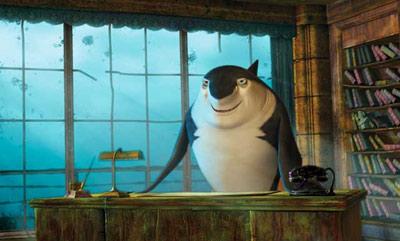 Robert Deniro Shark Tale animatedfilmreviews.filminspector.com