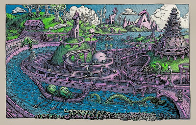 2013/10/29 Reading, PA Phish Poster by David Welker